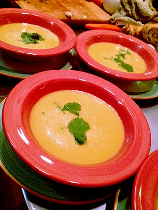 Pumpkin Thai Soup